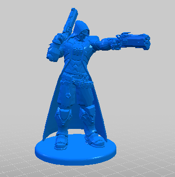 oggetto 3D stampa 3D modello 3D overwatch 2