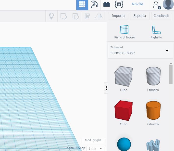 piano 3D modellazione 3D modello 3D 2