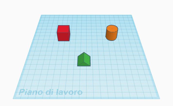 piano 3D modellazione 3D modello 3D 3