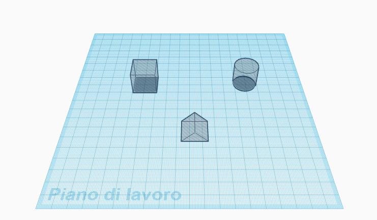 piano 3D modellazione 3D modello 3D 4