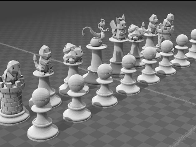 stampa 3D stampante 3D oggetto 3D pokemon 3D catttura 3