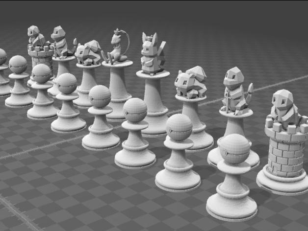 stampa 3D stampante 3D oggetto 3D pokemon 3D catttura 4