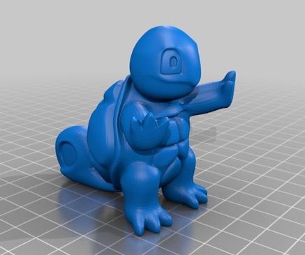 stampa 3D stampante 3D oggetto 3D pokemon 3D catttura 7