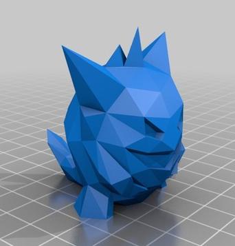 stampa 3D stampante 3D oggetto 3D pokemon 3D catttura