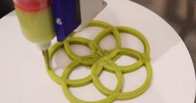 cibo stampato in 3D