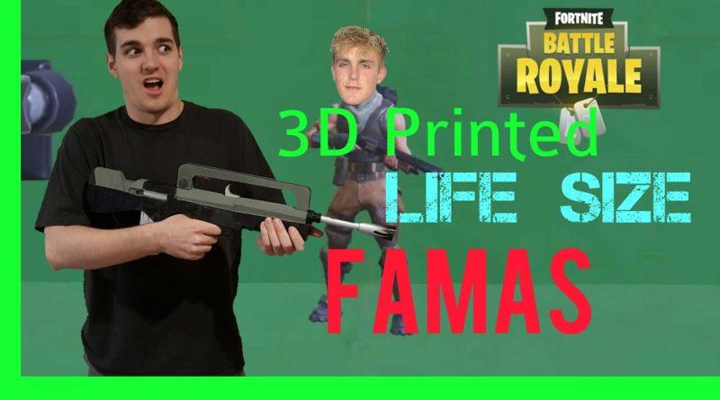 modelli 3d armi fortnite stampa 3d