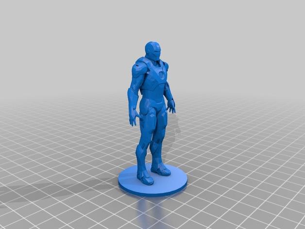 Marvel, modello stampa 3D di Iron-Man