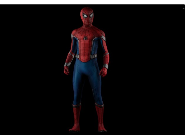 Marvel, modello stampato in 3D di Spider-Man