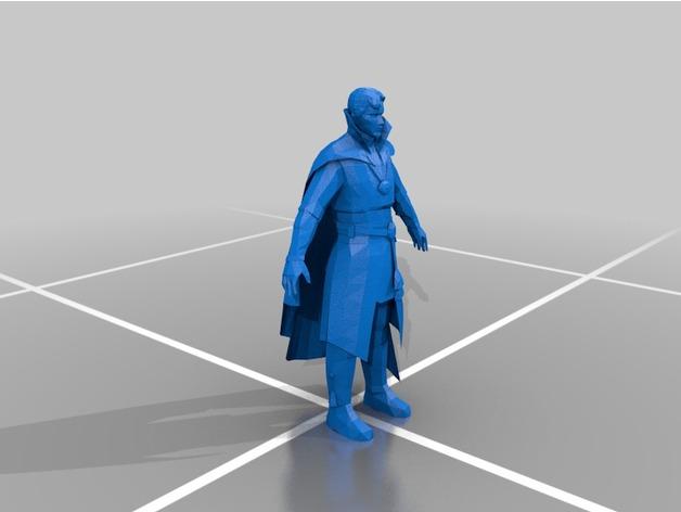 Marvel, modello stampa 3D del Dr Strange