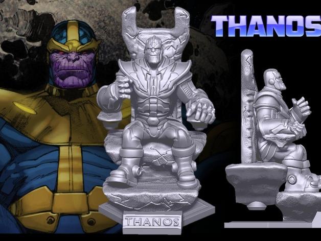 Marvel, modello stampa 3D di Thanos