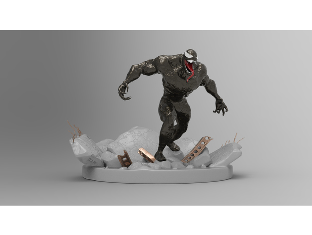 Marvel, modello stampa 3D di Venom