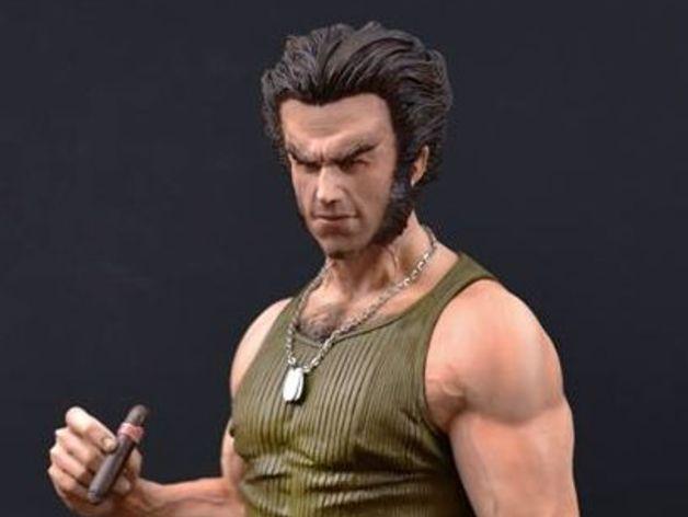 Marvel, modello stampa 3D di Wolverine
