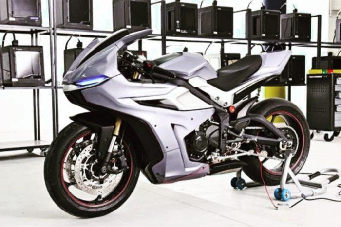 Nera, la moto stampata in 3D, Zortrak, 2016